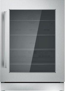 "24"" UNDER-COUNTER GLASS DOOR REFRIGERATION T24UR910RS"