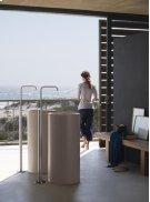 Free-standing wash basin mixer - Grey Product Image