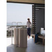 Free-standing wash basin mixer - Grey