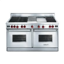 "60"" Gas Range - 6 burners, French Top"