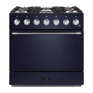 "AGAMidnight Sky 36"" AGA Mercury Dual Fuel Range"