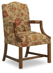 Living Room Martha Exposed Wood Chair 4006SM