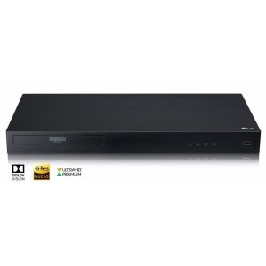 LG Appliances4K Ultra-HD Blu-ray Disc Player with Dolby Vision(R)