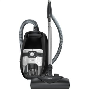 MieleBagless canister vacuum cleaners with electrobrush for thorough cleaning of heavy-duty carpeting.