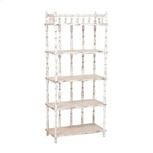 TALL SPINDLE SHELF