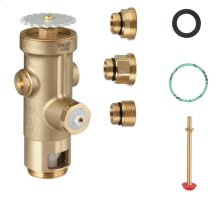 Wall Carrier Toilet Flush Valve