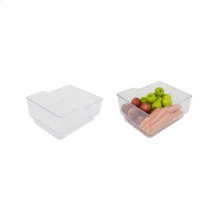 "Storage Bin - Roll Out - 15 9/16"" x 13 1/2"" x 7 1/2"""