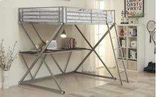 Twin Workstation Loft Bed