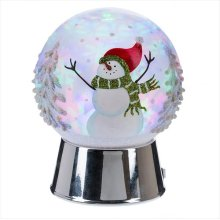 Snowman Dome Projection LED Night Light.