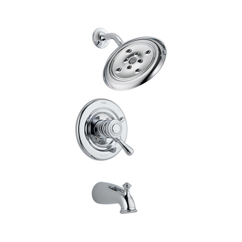 Chrome Monitor® 17 Series Tub and Shower Trim