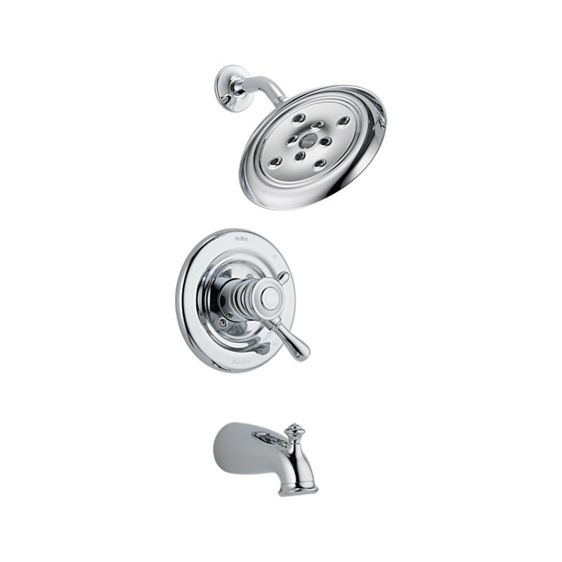 Chrome Monitor® 17 Series Tub and Shower Trim