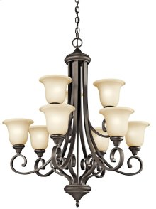 Monroe 9 Light Chandelier Olde Bronze®