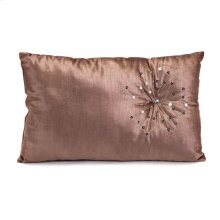 Sendai Lotus Flower Rectangle Pillow - 12 x 20