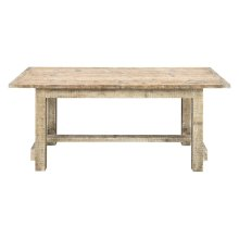 Emerald Home Interlude Complete Gathering Height Dining Table Sandstone D560-13-05