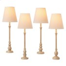 Antique Taupe Buffet Lamp (4 asstd). 40W Max. Product Image