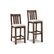 """Cumberland 24"""" Counter Chair With Fabric Seat"""
