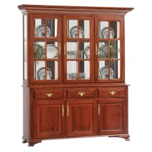3-Door Queen Victoria Hutch & Buffet