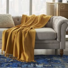 Throw Ss905 Yellow 50 X 60 Throw Blanket