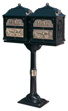 The Classic Double-Mount Mailbox