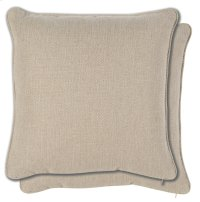 Accessories 18 Pair Sq. Welt No Pleats Pillow Product Image
