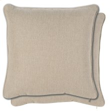 Accessories 23 Pair Sq. Welt No Pleats Pillows