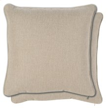 Accessories 21 Pair Sq. Welt No Pleats Pillows