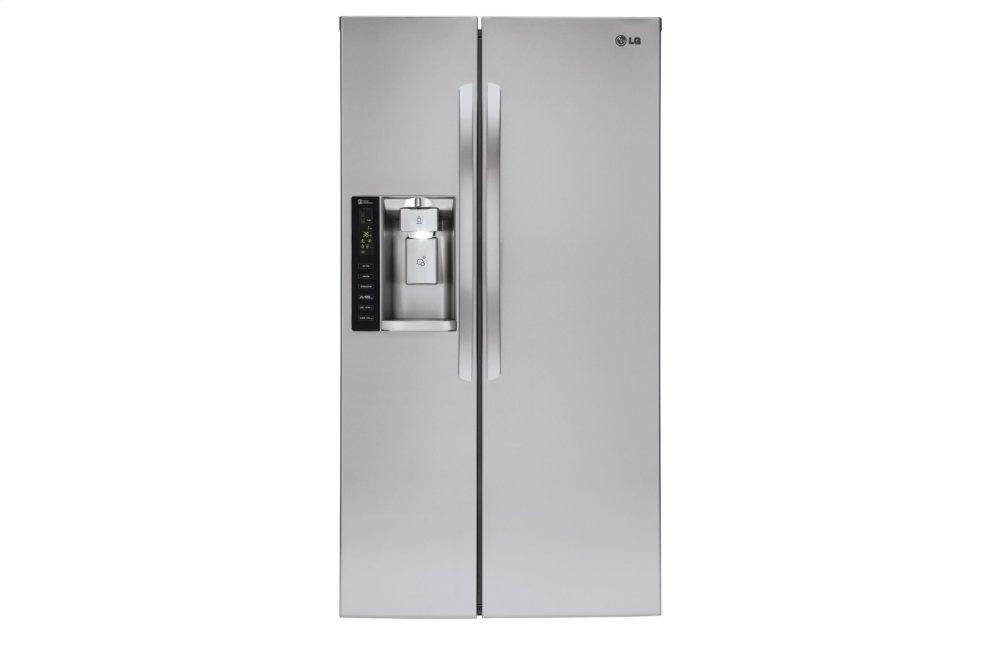 LG Appliances22 Cu. Ft. Smart Wi-Fi Enabled Side-By-Side Counter-Depth Refrigerator