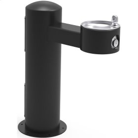 Elkay Outdoor Fountain Pedestal Non-Filtered Non-Refrigerated, Black