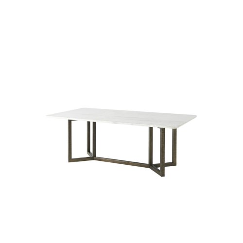 Hermosa Table - Rectangular Marble Top