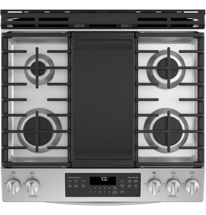 JGS760SELSS in Stainless Steel by GE Appliances in Rouses