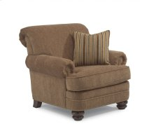 Bay Bridge Fabric Chair with Nailhead Trim