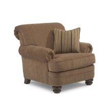 Bay Bridge Fabric Chair with Nailhead Trim