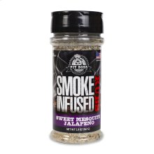Smoke Infused Sweet Mesquite Jalapeno Sea Salt