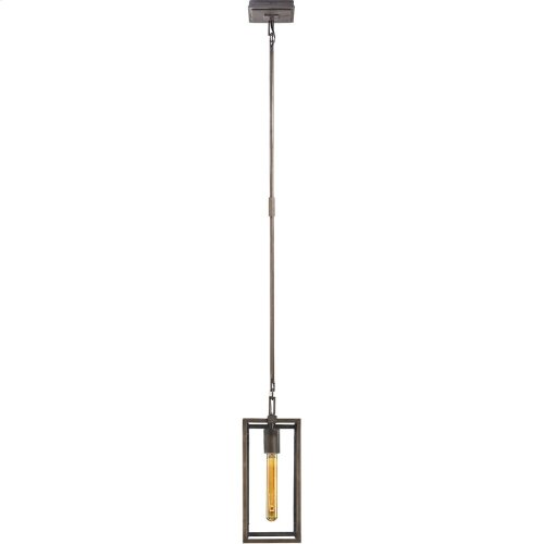 Visual Comfort S5010AI Ian K. Fowler Belden 1 Light 6 inch Aged Iron with Wax Pendant Ceiling Light