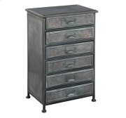 Marketplace Six Drawer Metal Chest Product Image