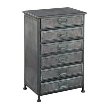 Marketplace Six Drawer Metal Chest