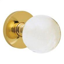 Polished Brass 5001 Estate Knob