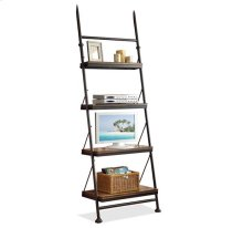 Camden Town Leaning Bookcase Hampton Road Ash finish