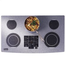 "DISPLAY - ZEU36RWFWW - GE Monogram® 36"" Ribbon Digital Electric Cooktop"