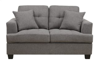 Clearview Loveseat Grey