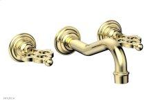 MAISON Wall Lavatory Set 164-11 - Polished Brass