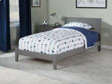 Orlando Twin XL Bed in Atlantic Grey