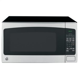 GE(R) 2.0 Cu. Ft. Capacity Countertop Microwave Oven - STAINLESS STEEL/BLACK