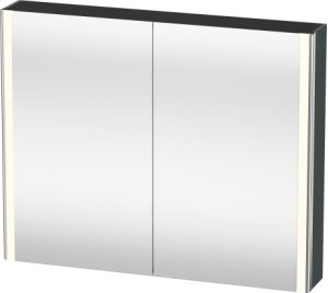 Mirror Cabinet, Dolomiti Gray High Gloss Lacquer