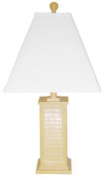 PR150-YL Shutter Table Lamp