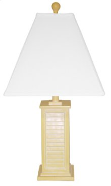 PR150-YL Shutter Table Lamp