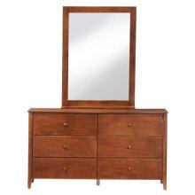 Dresser/Mirror (Cherry)