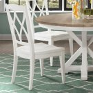 Myra - Xx-back Side Chair - Paperwhite Finish Product Image