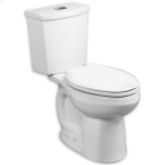 American StandardBone H2Option Dual Flush Elongated 0.92/1.28 gpf Toilet - Lined Tank