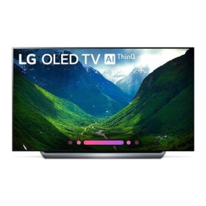 "LG ElectronicsC8PUA 4K HDR Smart OLED TV w/ AI ThinQ® - 77"" Class (76.8"" Diag)"